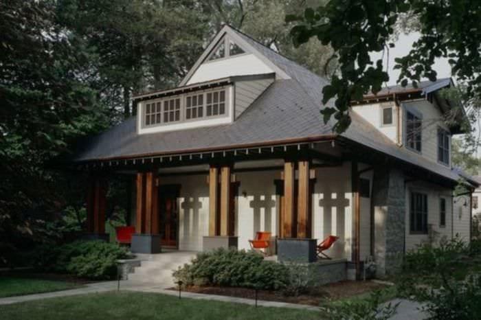 бетонное крыльцо частного дома