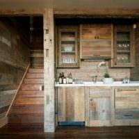 дачная кухня фото идеи
