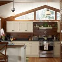 дачная кухня интерьер