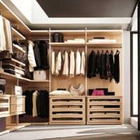дизайн гардеробной комнаты в квартире фото