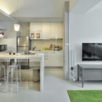 дизайн интерьера квартиры студии 32 кв м