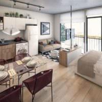 дизайн интерьера маленькой квартиры фото идеи