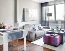 дизайн интерьера маленькой квартиры идеи