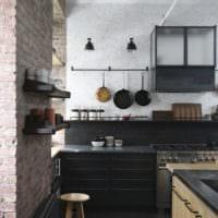 дизайн кухни студии идеи