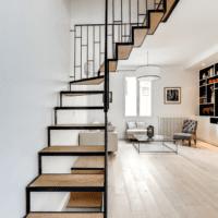 дизайн лестницы в доме фото интерьера