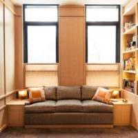 дизайн маленького зала фото