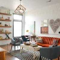 дизайн маленького зала гостиной фото