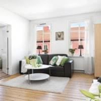 дизайн маленького зала идеи интерьера