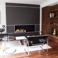 дизайн маленького зала стильный