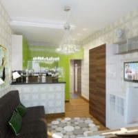 дизайн маленькой квартиры студии фото