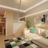 дизайн маленькой квартиры студии идеи