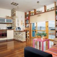 дизайн маленькой квартиры студии идеи фото