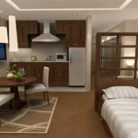 дизайн маленькой квартиры студии интерьер