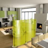 удобный дизайн маленькой квартиры студии