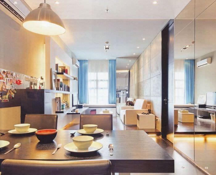 зеркала в дизайне квартиры