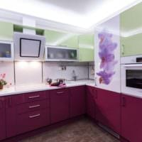 дизайн гарнитура кухни 5 кв м