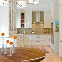 дизайн кухни студии фото интерьера