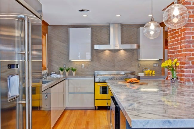 идеи дизайна кухни студии
