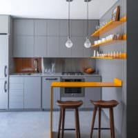 дизайн кухни студии идеи интерьера