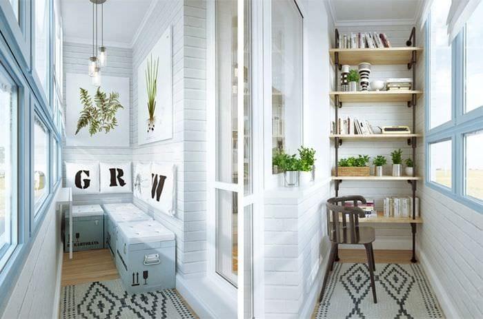 Дизайн небольшого балкона: создание комнаты отдыха всегда ва.