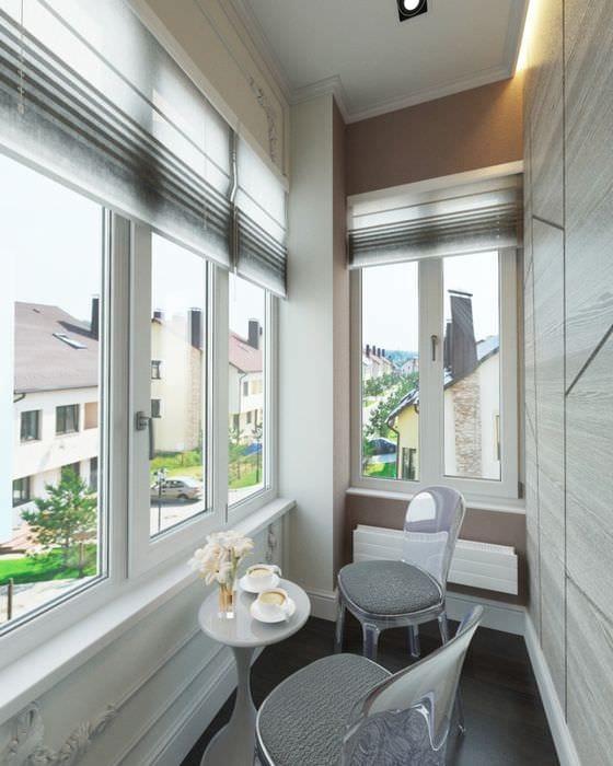 75 идей дизайна маленького балкона: правила оформления и дек.