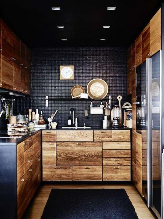 дизайн угловой кухни 3 на 3 метра