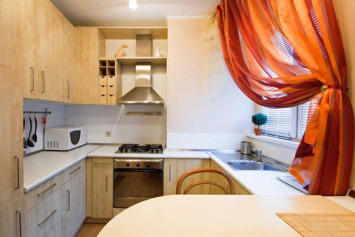 дизайн кухни 5 кв м гарнитур