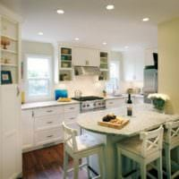 дизайн кухни 5 квадратных метров идеи фото