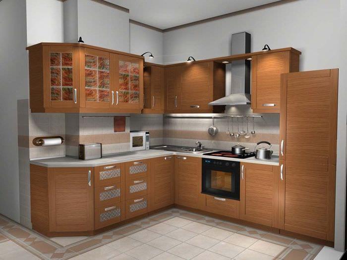 гарнитур кухни 6 кв м