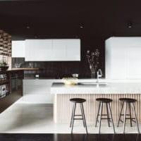 фото идеи кухня венге