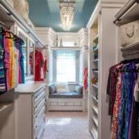 дизайн гардеробной классика