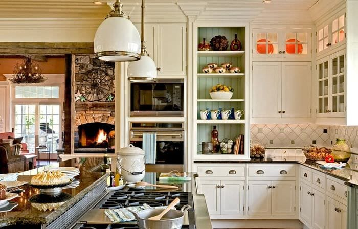 гарнитур для дачной кухни