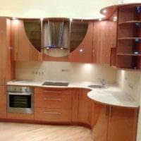 пример красивого декора кухни 7 кв.м картинка