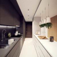 пример красивого интерьера кухни 13 кв.м фото