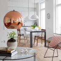 идея красивого стиля комнаты в скандинавском стиле фото
