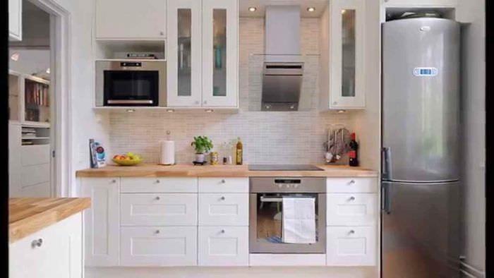 пример необычного дизайна кухни 11 кв.м