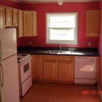 вариант яркого интерьера кухни 7 кв.м фото
