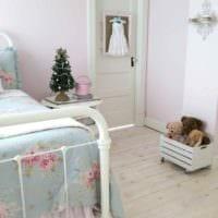 вариант яркого интерьера детской комнаты для девочки картинка