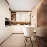 пример необычного интерьера кухни 7 кв.м картинка