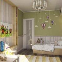 пример светлого декора комнаты 12 кв.м фото