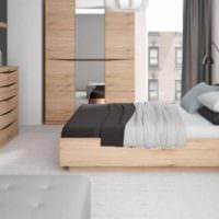 идея красивого интерьера гостиной спальни фото