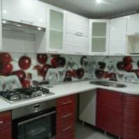 пример светлого стиля кухни 11 кв.м картинка