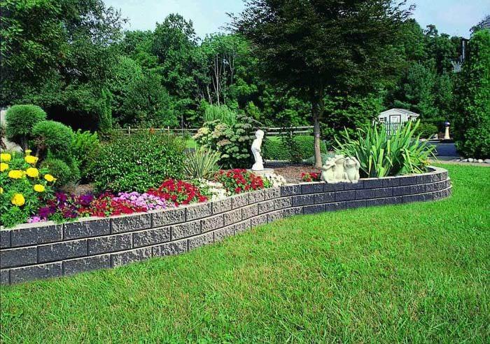 пример необычного дизайна огорода на даче