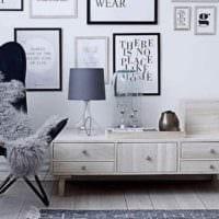 вариант необычного декора квартиры в скандинавском стиле фото