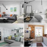 вариант красивого интерьера квартиры в скандинавском стиле картинка