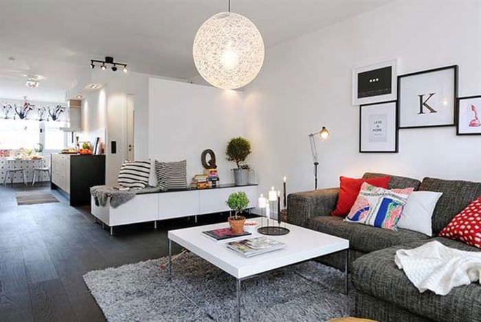 интерьер для маленькой квартиры