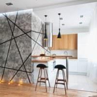 интерьер и дизайн квартиры студии