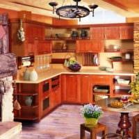 интерьер кухни на даче фото дизайна