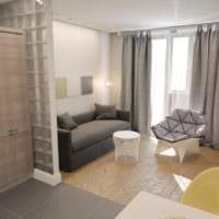 фото дизайна квартиры студии