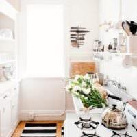 интерьер маленькой кухни 3 на 3 метра
